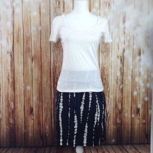 2 PC Skirt t-shirt Ann Taylor